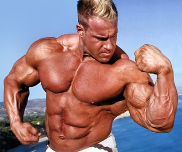 The biceps of Jay Cutler