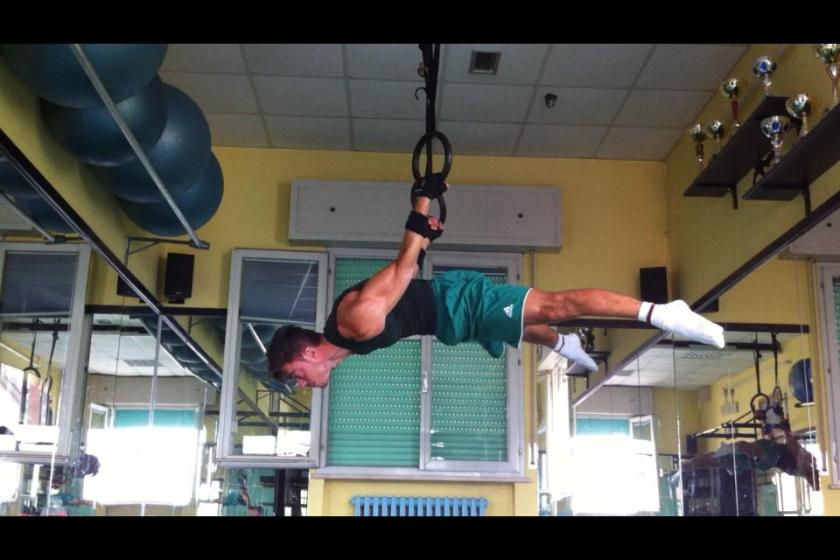 Straddle Back Lever