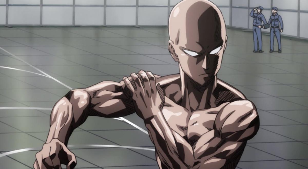 One punch man: si può diventare forti e grossi allenandosi a corpo libero come Saitama?