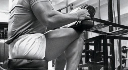 esercizi polpacci - calf seduto